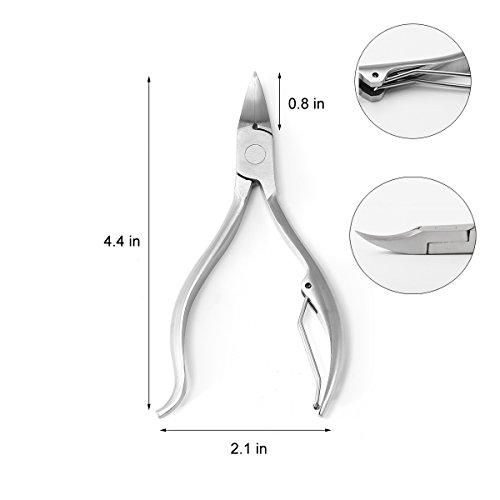 Firstwish Nail Clipper Toenail Thick Tool Lifter Ingrown Toenails 3