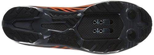 Pearl Izumi X-Project Pro Fahrradschuhe Schreiende Orange / Schwarz