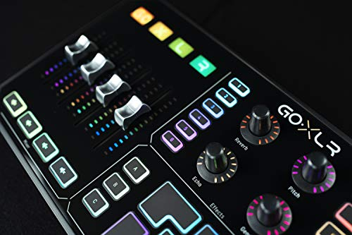 GoXLR – Mixer, Sampler, & Voice FX for Streamers