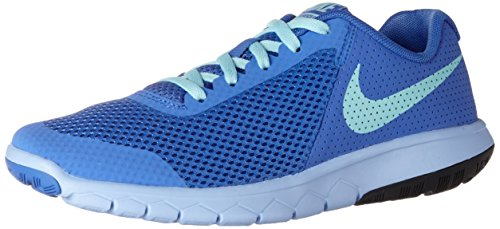 New Nike Girl's Flex Experience 5 Athletic Shoe Medium Blue/Aluminum (New Nike Sneakers)