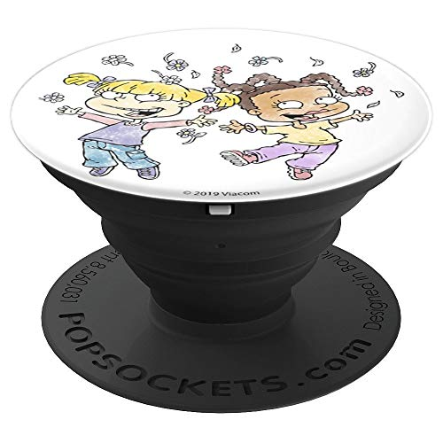 Rugrats Angelica And Susie Watercolor Jump - PopSockets Grip and Stand for Phones and ()