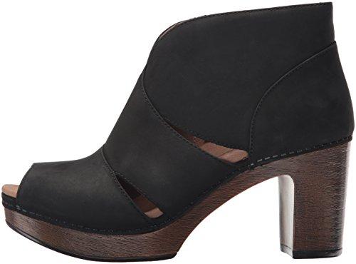 Dansko Women's Delphina Ankle Bootie, Black Milled Nubuck, 38 EU/7.5-8 M US by Dansko (Image #5)