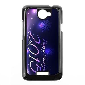 Purple Happy HTC One X Cell Phone Case Black Q6838879