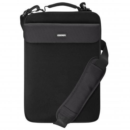 NoLita II Neoprene Case for Laptop, Black (CLS407BY) by Cocoon