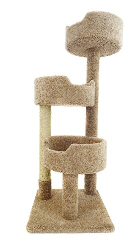 - New Cat Condos Deluxe Kitty Pad, Brown