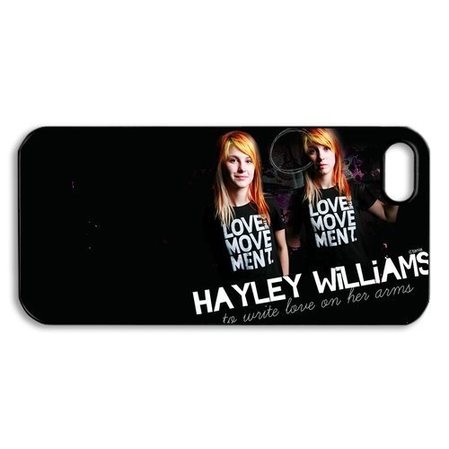 CTSLR iphone 5 Case - Music & Singer Series Slim Hard Plastic Back Case for iphone 5 -1 Pack - Band PARAMORE HAYLEY WILLIAMS (16.20) - 095]()