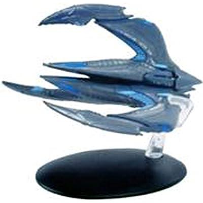#24 Star Trek XINTI Insectoid Warship DieCast Metal Ship-UK/Eaglemoss w Mag: Toys & Games