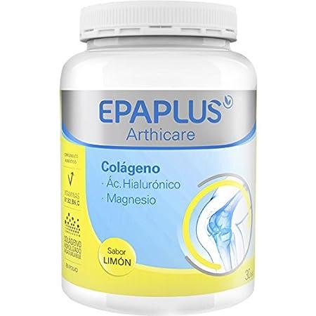 Epaplus Colágeno Ácido Hialurónico y Magnesio 30 Dias Polvo Limon - Pack de 2, 664 gr: Amazon.es: Salud y cuidado personal