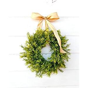 Mini Window Wreath, MINI Tea Leaf Wreath-Fixer Upper Decor,Farmhouse Decor, Country Cottage Wreath, Farmhouse Wreath, Small Wreath, Rustic Home Decor, Housewarming Gift 72