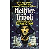 Front cover for the book Hellfire in Tripoli by Edwin Palmer Hoyt