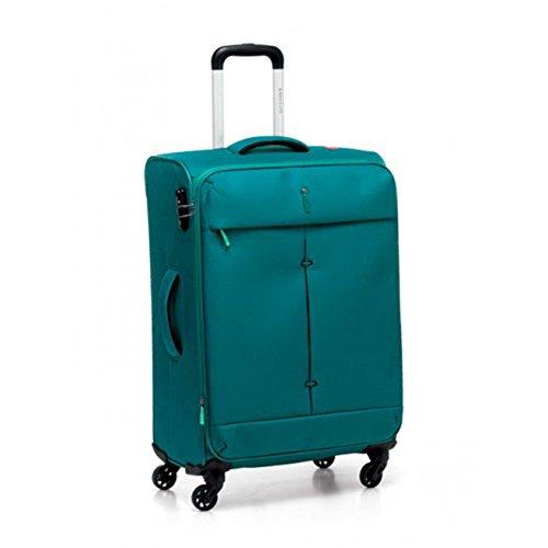 RONCATO IRONIK - TROLLEY GRANDE ESPANDIBILE 4 RUOTE - CM 78X48X29/32 - LT. 103/113 - KG 3,2 - CHIUSURA COMBINAZIONE TSA (SMERALDO )
