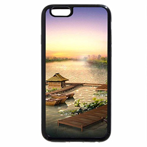 iPhone 6S / iPhone 6 Case (Black) .RESORTS IN LAKE.