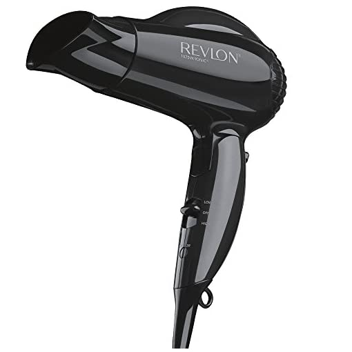 revlon - 41ExJGR3QTL - Revlon 1875W Quick Blowout Travel Hair Dryer