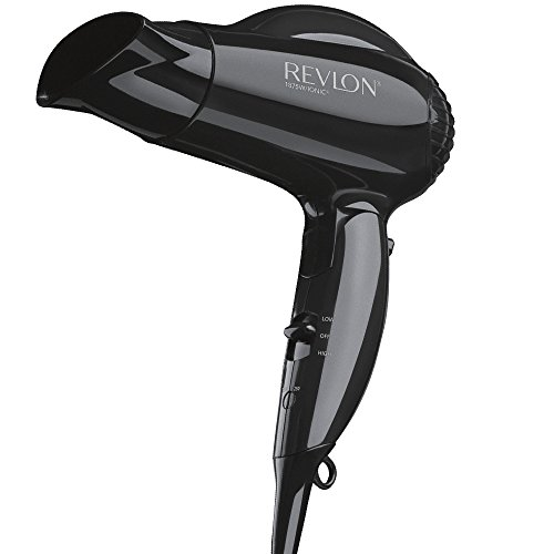 revlon - 41ExJGR3QTL - Revlon Essentials 1875W Travel Compact Hair Dryer