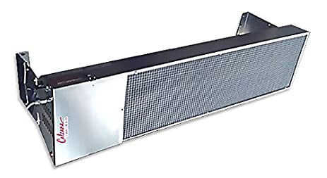 Calcana PH 40 HO 5u0027 Nat. Gas Overhead Patio Heater