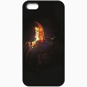 Personalized iPhone 5 5S Cell phone Case/Cover Skin 14745 sixers wp 22 sm Black
