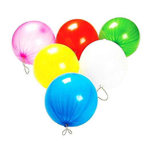 dazzling toys Punch Balloons, 50 Piece