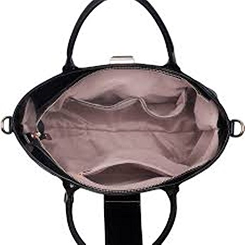 Celebrity Faux Style Fashion Cws00329 Tote Purple Bag Designer Ladies Quality Bags Handbag Leather Women's zUqq4
