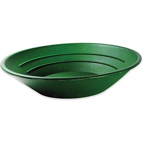 SE Gold Pan Plastic Size 10in. Diameter   Green Color