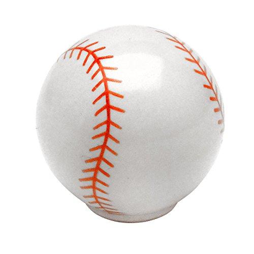 Cosmas Athleticz Collection 67121 Baseball Round Cabinet Hardware Knob 1-1/4