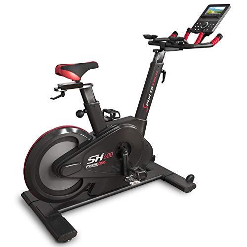 Sportstech Bicicleta de Elite – Marca de Calidad Alemana – Eventos en Directo & App Multijugador, Sistema de Freno…