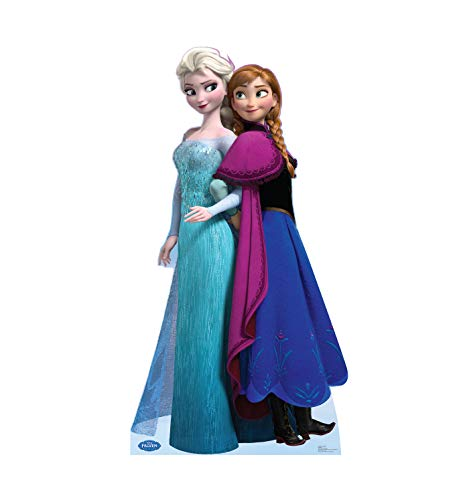 Elsa and Anna - Disney's Frozen - Advanced Graphics Life Size Cardboard Standup