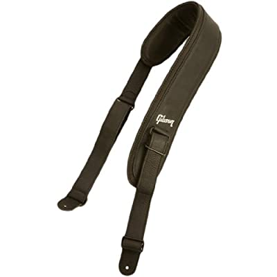 Gibson Gear ASFB-BLK Acoustic Guitar Strap