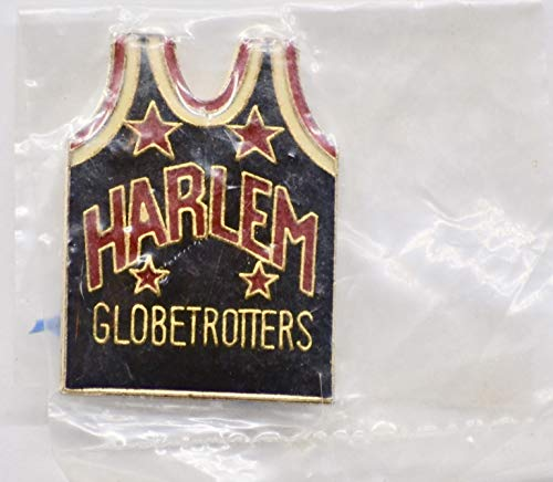 Vintage Harlem Globetrotters Cloisonne Pin - 1 x 0.75 Inch - Collectible - Rare
