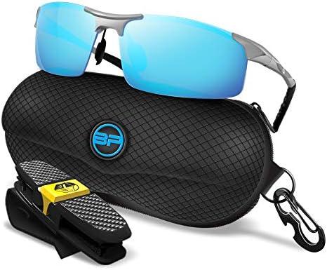 BLUPOND Lot de 3 sangles et supports pour lunettes de soleil antid/érapants en silicone pour fixation de lunettes de soleil Keepon Gripper transparent