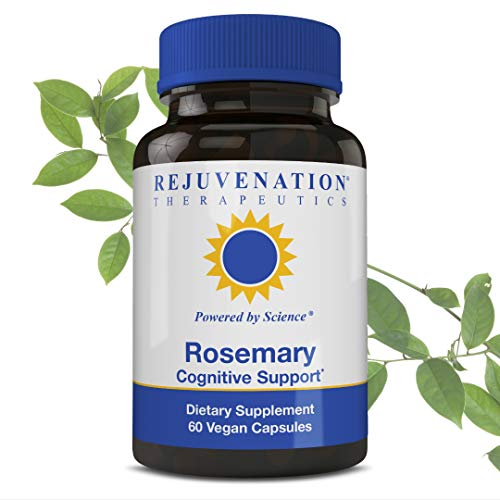(REJUVENATION THERAPEUTICS Rosemary Extract | Benefits Immune System | Promotes Healthy Circulatory System | Improves Memory | Premium Organic and Vegan Friendly | Gluten Free | No Artificial Fillers)