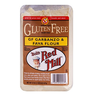 Bob'S Red Mill Garbanzo Fava Flour Gluten Free 22 Oz (Pack of 4) - Pack Of 4