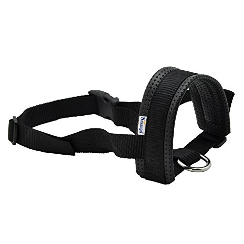 Niteangel Quick Fit Nylon Dog Muzzle, XXL -