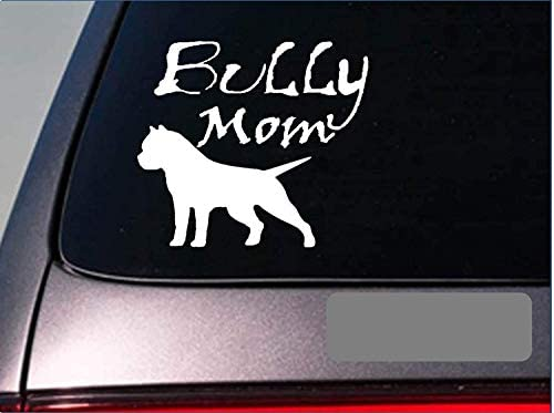 American Bully Mom Aufkleber Pitbull Pit Bull Abkc Bully Amstaff Auto