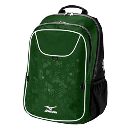 ee9a3d1e3e Amazon.com : Mizuno Lightning 2 Volleyball Equipment Daypack, Forest ...