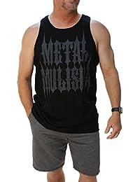 Men's Stamp Tank Top-3XL Black