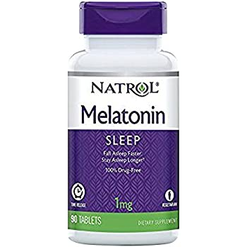 Melatonin - Time Release, 1 mg 90 tab (TWO PACK)