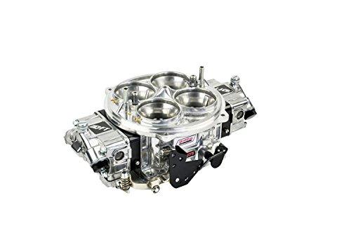 Quick Fuel Technology FX-1050BLK Pro Street QFX Series Carburetor 1050 cfm. Dominator Polished Finish w/Black Billet Metering Blocks Pro Street QFX Series ()