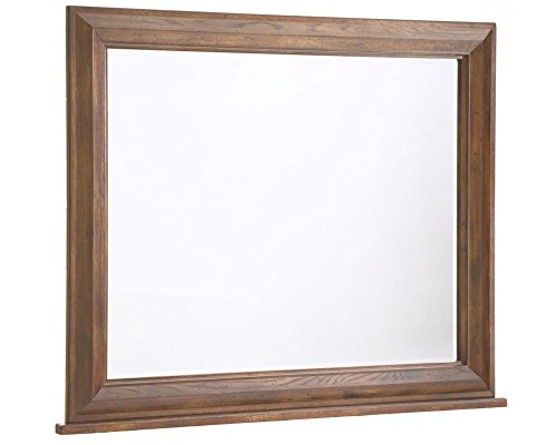 Broyhill Attic Heirlooms Dresser Mirror with Back Supports, Brown