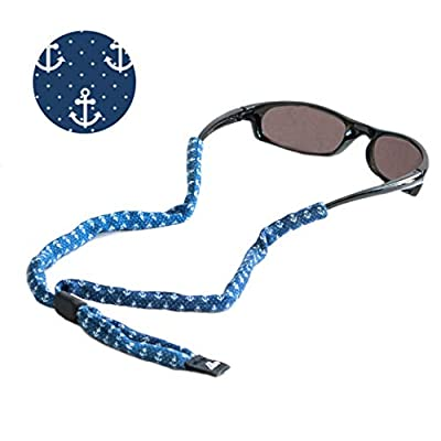 Ukes Premium Sunglass Strap - Durable & Soft Eyewear Retainer Designed Cotton Material - Secure fit for your glasses and eyewear.