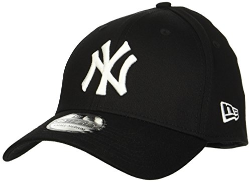 New Era Men s MLB Basic NY Yankees 39Thirty Stretch Back Baseball  Cap 51a749c9417