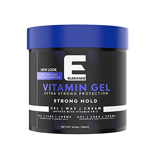 ELEGANCE GEL Extra Strong Protection Medium Hold Hair Gel