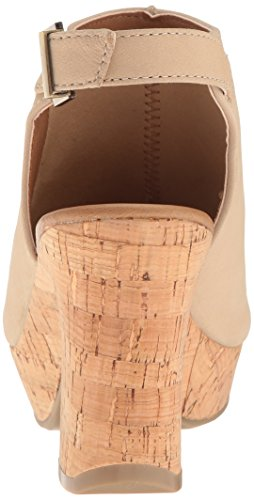 Kenneth Cole REACTION Women's Tole-Tally Heeled Sandal Stone top quality sale online lSUsB7d