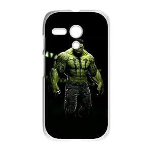 Motorola Moto G Phone Case White Hulk ZKH9381401