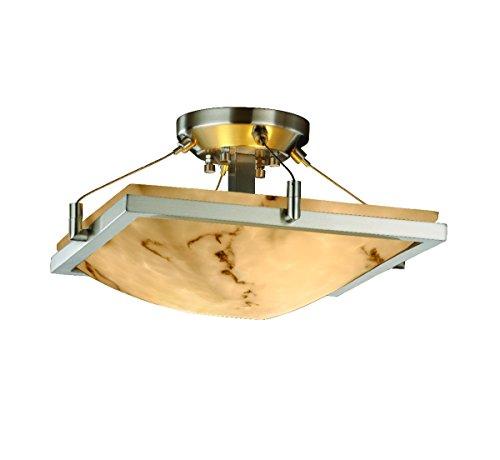Justice Design Group Lighting FAL-9780-25-NCKL-LED2-2000 LumenAria-Ring 16