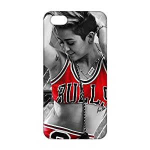 Evil-Store Bulls 23 Sexy lady 3D Phone Case For Iphone 6 Plus (5.5 Inch) Cover