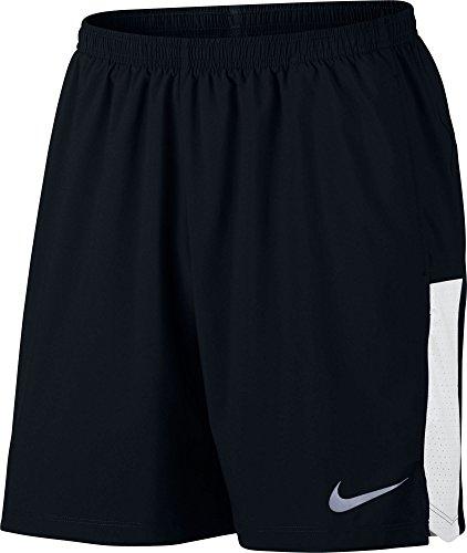 Nike Mens 7 Flex Challenger Running Shorts, (Black, XL)