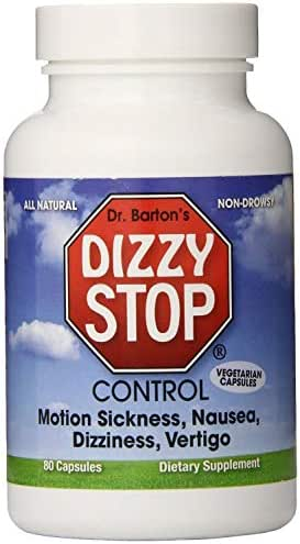 Motion Sickness, Dizziness, Vertigo, Nausea - All Natural Herbal Supplement Treatment - by Dizzy Stop