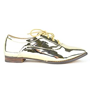 Chase & Chloe Pilot-1 Lace-up Women's Oxford