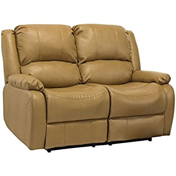 RecPro Charles 58\  Double RV Zero Wall Hugger Recliner Sofa Loveseat Toffee  sc 1 st  Amazon.com : rv double recliner - islam-shia.org