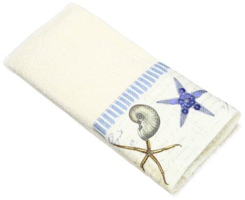 Avanti Linens Antigua Fingertip Towel, Ivory ()